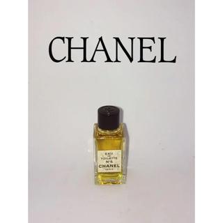 シャネル(CHANEL)のCHANEL No.5 EAU DE TOILETTE 5ml ミニ香水(香水(女性用))
