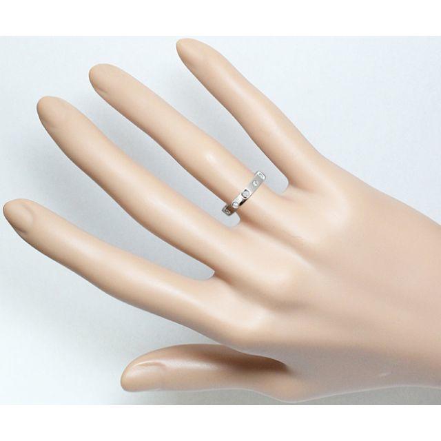 MIKIMOTO(ミキモト)のミキモト ダイヤ Pt プラチナ リング 指輪 6.2号 6号 6.5号 レディースのアクセサリー(リング(指輪))の商品写真