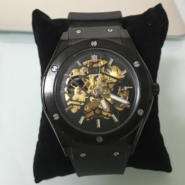 7abba42181 HUBLOT好きにオススメ!!メンズ腕時計 高級腕時計 機械式!の通販 by ...