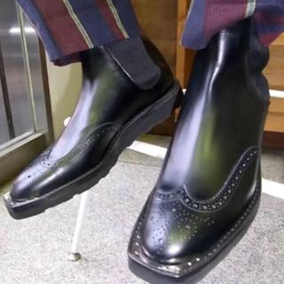 ジョンローレンスサリバン(JOHN LAWRENCE SULLIVAN)のJOHN LAWRENCE SULLIVAN サイドゴアブーツ(ブーツ)