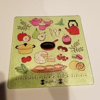 ガラス製 鍋敷(テーブル用品)