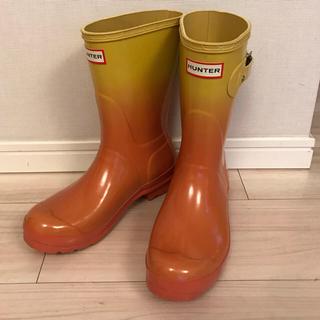 ハンター(HUNTER)のHunter  ミドルレインブーツ  EU38(レインブーツ/長靴)