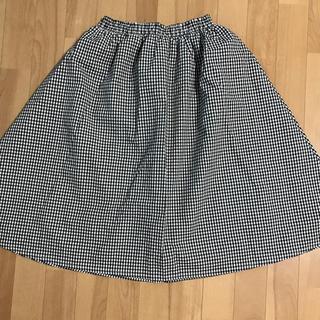 メリージェニー(merry jenny)のギンガムチェックスカート(ひざ丈スカート)