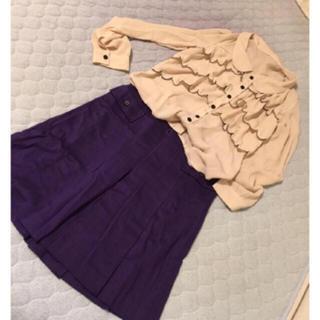 アクアスキュータム(AQUA SCUTUM)のスカート  (ひざ丈スカート)