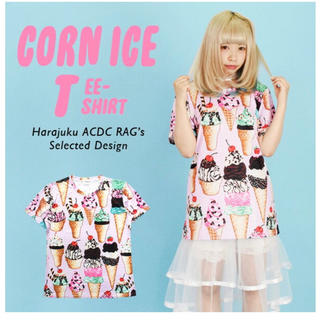 エーシーディーシーラグ(ACDC RAG)のACDC RAG アイスクリームTシャツ(Tシャツ(半袖/袖なし))