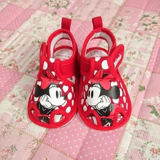Disney - ミニーちゃん サンダル