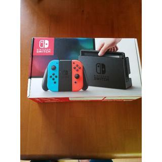ニンテンドースイッチ(Nintendo Switch)の任天堂スイッチ 本日限り28500円  統生さん専用(家庭用ゲーム機本体)