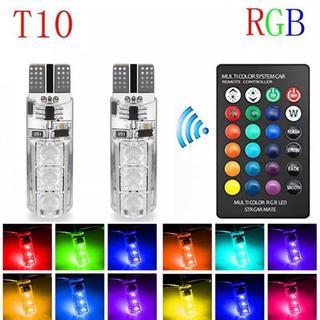 T10 LED RGB ストロボ フラッシュ フェード スモール ポジション(汎用パーツ)