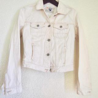 ザラ(ZARA)のZARA / ケミカルジーンズジャケット / オフホワイトカラー(Gジャン/デニムジャケット)