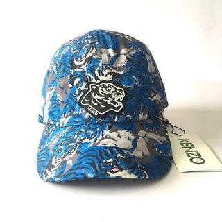 ケンゾー(KENZO)の美品☆未使用KENZO ◆blue野球帽(その他)
