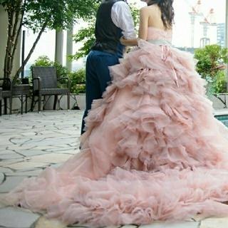 ヘイリー風カラードレス