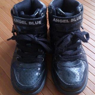 エンジェルブルー(angelblue)のANGEL BLUE  ハイカットスニーカー ダンスシューズ 20.0㎝(スニーカー)