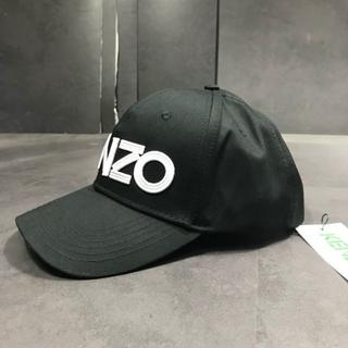 KENZO - 美品☆未使用KENZO◆ブラック野球帽 01