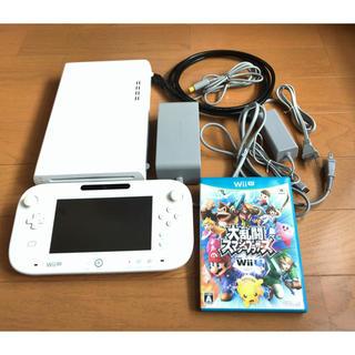 Wii U - wiiU本体セット【32GB】セット+大乱闘スマッシュブラザーズ