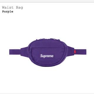 シュプリーム(Supreme)のSupreme waist bag purple(ボディーバッグ)
