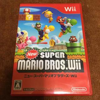 ウィー(Wii)の送料無料 ニュースーパマリオブラザーズ(家庭用ゲームソフト)