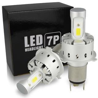 H4 Hi/Lo 車検対応 LEDヘッドライト 6000K 12000ルーメン(汎用パーツ)