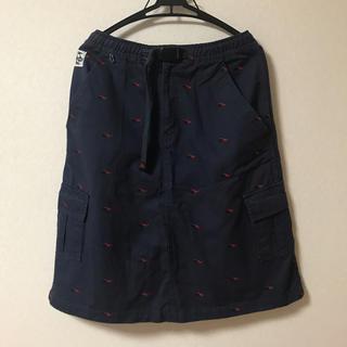 チャムス(CHUMS)のCHUMS メガネ柄 膝丈スカート(ひざ丈スカート)