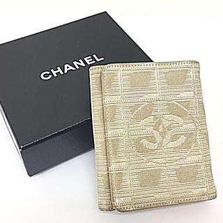 シャネル(CHANEL)の正規品シャネルニュートラベルライン折財布(財布)