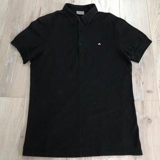ジェイリンドバーグ(J.LINDEBERG)のリンドバーグJ.LINDEBERG  ブラック 半袖ポロシャツ  サイズM(ウエア)