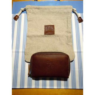サマンサモスモス(SM2)の新品未使用*サマンサモスモスノベルティーカードケース&麻の巾着*(ノベルティグッズ)