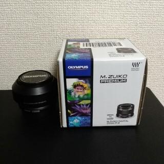 オリンパス(OLYMPUS)のM.ZUIKO DIGITAL 25mm F1.8 [ブラック](レンズ(単焦点))