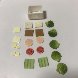 ミニチュア サンドイッチ ランチ(おもちゃ/雑貨)
