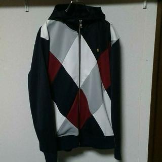 アドミラル(Admiral)のadmiral hooded track-jacket / argyle / L(パーカー)