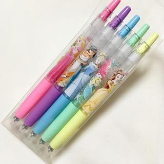 Disney - ディズニープリンセス 水性ボールペン Juice 0.5mm 5本セット
