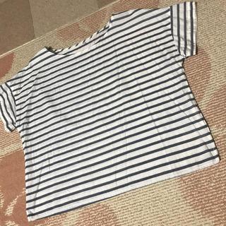 ムジルシリョウヒン(MUJI (無印良品))の無印良品の半袖ボーダーシャツ(Tシャツ(半袖/袖なし))