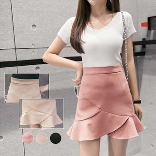 【ラクマ最安値挑戦】  マーメイドスカート ミニスカート  aラインスカート(ミニスカート)