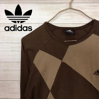 アディダス(adidas)のアディダス 長袖Tシャツ(Tシャツ/カットソー(七分/長袖))