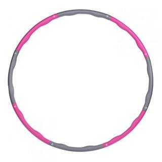☆おうちで簡単エクササイズ☆フラフープ 大人用 直径95cm ピンク(トレーニング用品)