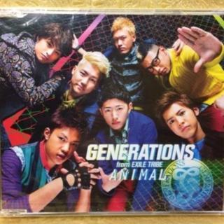 GENERATIONS from EXILE TRIBE CD 「ANIMAL」(ポップス/ロック(邦楽))