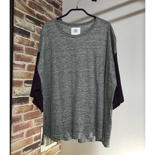 ストフ(stof)のストフ stof 切替Tシャツ(Tシャツ/カットソー(七分/長袖))