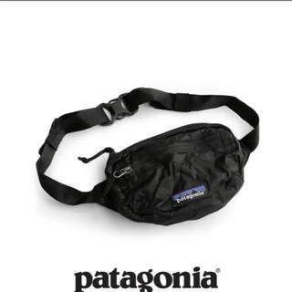 パタゴニア(patagonia)の新品 パタゴニア ウエストポーチ ブラック 49446 バック  (ショルダーバッグ)
