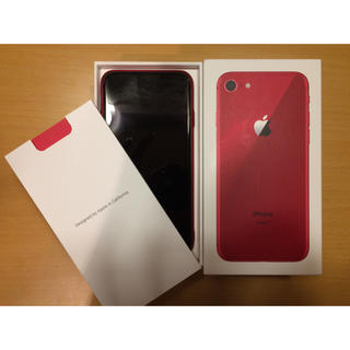 Apple - iPhone8  プロダクトレッド256GB箱 超美品