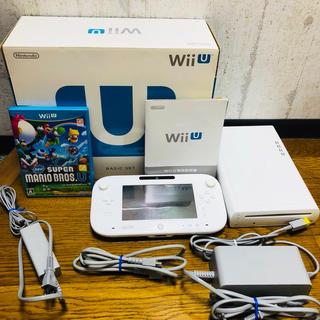 Wii U - WiiU ベーシックセット 本体 ソフト スーパーマリオブラザーズ
