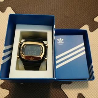 アディダス(adidas)の◆adidas◆デジタルラバー時計黒(腕時計(デジタル))