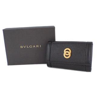 ブルガリ(BVLGARI)の【未使用】ブルガリ キーケース 6連 ドッピオトンド レザー A2568(キーケース)