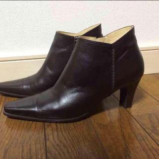 リーガル(REGAL)の【美品】REGALショートブーツ22.5(ブーツ)
