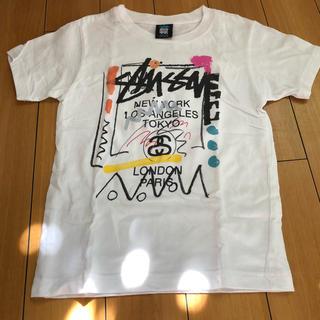 ステューシー(STUSSY)の【美品 キッズ ステゥーシィTシャツ】(Tシャツ/カットソー)