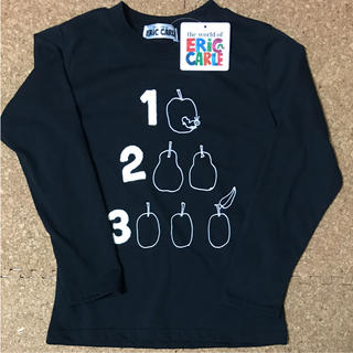 はらぺこあおむし 長袖Tシャツ 120(Tシャツ/カットソー)