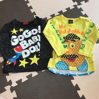 ベビードール(BABYDOLL)のロンTセット(Tシャツ/カットソー)