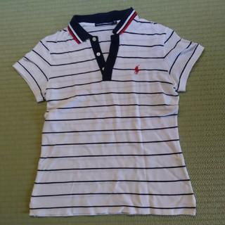 ポロラルフローレン(POLO RALPH LAUREN)のポロラルフローレン RALPH LAUREN GOLF レディースポロシャツ L(ポロシャツ)