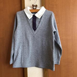 ベルメゾン(ベルメゾン)の美品 ベルメゾン GITA 重ね着風 カットソー フォーマルにも 110 (Tシャツ/カットソー)