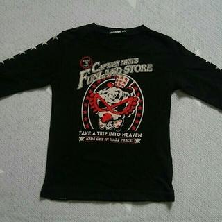 ヒステリックミニ(HYSTERIC MINI)の美品・ヒステリックミニ・ロンTシャツ・100cm(Tシャツ/カットソー)