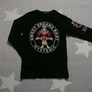 ヒステリックミニ(HYSTERIC MINI)の美品・ヒステリックミニ・ロンTシャツ・120cm(Tシャツ/カットソー)