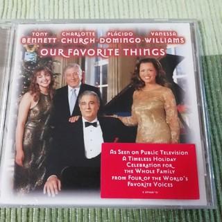CD  シャルロット・チャーチ他 OUR FAVORITE THINGS(ワールドミュージック)