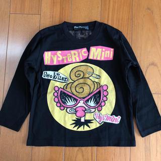 ヒステリックミニ(HYSTERIC MINI)のヒスミニ長袖Tシャツ100cm(Tシャツ/カットソー)